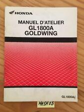 Honda GL1800A Goldwing 1800 A3 GL1800 supplément revue technique manuel atelier