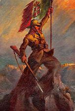 3925) WW ETIOPIA 10 REGGIMENTO GRANATIERI DI SAVOIA. VERSO BIANCO. ILL. TAFURI.