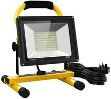 Olafus 40W LED Work Light 4000LM, 2 Brightness Modes, IP65 Waterproof Outdoor...