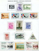 DOMINICAN REPUBLIC 27 STAMPS LOT, YEARS 1959/1960