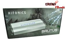 Hifonics Brutus BRX5016.5 5 Channel 1200 Watts  A/B Class Amplifier + REMOTE