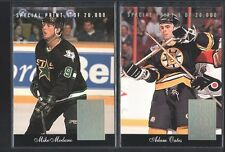 2 CARD LOT MIKE MODANO ADAM OATES 1993/94 DONRUSS SPECIAL PRINT STARS SP $8