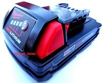 New GENUINE 18V Milwaukee 48-11-1815 Compact BATTERY M18 18 Volt Red Lithium