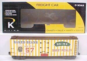 K-Line K762-5203 Heinz Woodside Reefer Car LN/Box
