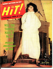 HIT PINUP MAGAZINE MAY 1953 * MARILYN MONROE NY YANKEES EVELYN WEST LILI ST CYR
