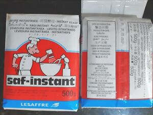 Premium 'Saf-Instant' Bakers Yeast  Free Next Day Post from NSW, Brand New