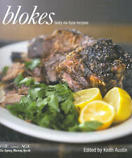 BLOKES TASTY NO-FUSS RECIPES Cookbook Keith Austin Willie Simpson Sydney herald
