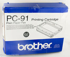 OEM Brother PC-91 Fax/Printing Cartridge (Intellifax 900/950/ 980/1500M980/1500M