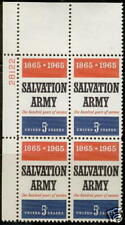 Scotts #1267   5c  SALVATION ARMY  Plate Block, MNH