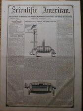 Gold Amalgamator & Washer 1852 Scientific American
