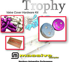 MSS Trophy no Valve Cover SS Hardware Spacers Gasket Oil Cap Contour Focus Zetec