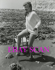 "HAYLEY MILLS 8X10 Lab Photo B&W SEXY LEGS Portrait ""THE CHALK GARDEN"" 1964"