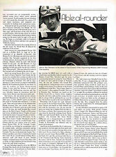 vintage ROY SALVADORI (UK) F1 Formula One Grand Prix Article/Picture/Photo