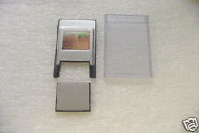 256MB Compact Flash +PC card PCMCIA Adapter JANOME 256 MB/ Hard case