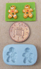 1:12 Scale Ginger Bread Man Mould Dolls House Miniature Cake Food Accessory