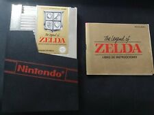 The Legend of Zelda + INSTRUCCIONES - Nintendo NES - PAL ESP  - 100% ORIGINAL