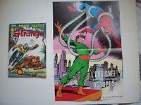 """STRANGE , N° 110 avec Poster détaché """"L'Araignée... """"  Marvel , LUG , 1979 , TBE"""