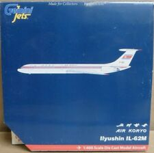 Gemini Jets GJKOR663 Air Koryo Ilyushin IL-62M 1:400 Scale Die-Cast Airplane NOS