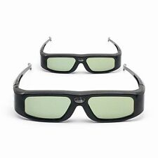 2x SainSonic 144Hz 3D DLP-Link Active Glasses for Optoma BenQ SamSung Sharp Acer