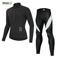 Mens Cycling Sets MTB Mountain Bike Sports Jersey Pants Gel Padded Trousers Tops
