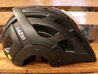 NEW Lazer Revolution MIPS Bike Helmet – Color: Black   Size: Medium (55-59 cm.)