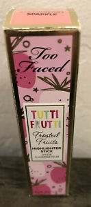 Too Faced Tutti Frutti Highlighter Stick - Strawberry Sparkle - New, Boxed!
