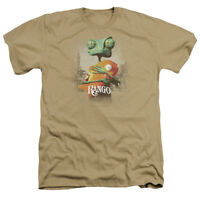 Rango Movie POSTER ART Licensed Adult Heather T-Shirt All Sizes