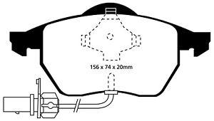 EBC Brakes DP31114C Redstuff Ceramic Low Dust Brake Pads
