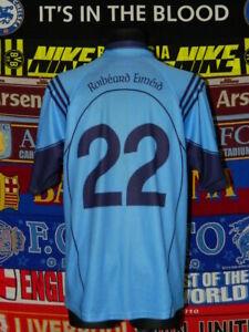5/5 Robert Emmets GAA adults L #22 gaelic football shirt jersey trikot