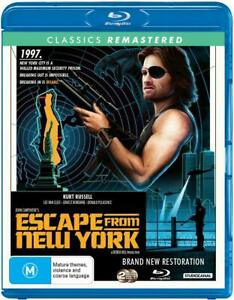 Escape From New York BLU-RAY, NEW SEALED AUSTRALIAN RELEASE