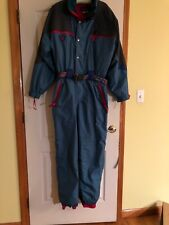 Men's Vintage Degre 7 Face Hood Full Snowsuit Size XXL(56),New