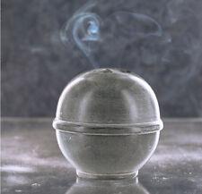 KUMO bâton de l'Encens et porte-Cône en Pierre grise par les Incense du monde