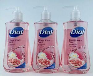 Lot Of 3 DIAL HIMALAYAN SALT HYDRATING HAND SOAP** 7.5 oz