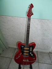 jolana tornado vintage gitarre 1963 semiacoustic tschechoslowakei.