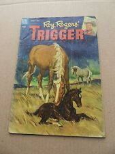 Roy Rogers And Trigger 8. Dell  1953 -    VG