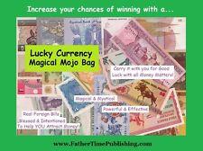Increase  Gambling & Lottery Winnings Magical Money Mojo Bag Good Luck Talisman