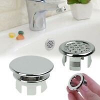 2 Pcs Sink Hole  Round  Overflow  Cover Ceramic Pots Basin Sink Overflow Covers