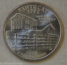 2001-P Uncirc. Kentucky Statehood Quarter - Single