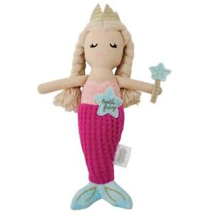"""Mud Pie Mermaid Collection Girls Tooth Fairy Doll, 8"""" Tall"""