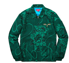 "SUPREME TRUTH TOUR JACKET TEAL SIZE XL ""CONFIRMED ORDER SHIPS WEDNESDAY"""