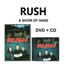 Rush DVD + CD A Show Of Hands Brand New Sealed