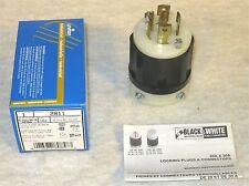LEVITON 2811 - 30 Amp, 120/208 Volt 3PY, NEMA L21-30P, 4P, 5W, Locking Plug