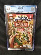 Avengers #676 03/18 CGC 9.8 1st Appearance Voyager Mark Brooks Cover Marvel