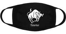 Zodiac Taurus - Face Mask Adult Youth Fashion 2 Layers Cotton Made in US