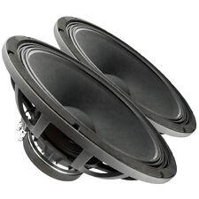 "Pair FaitalPRO 18FH510 18"" Professional Subwoofer Speaker 8ohm 98dB 1200W 3"" VC"