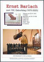 Ernst Barlach Gedenkblatt anlässlich 150. Geburtstag, Blinder Bettler (9)