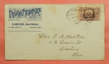 1893 MUSICAL MESSENGER PUBLISHER ADVERTISING CINCINNATI OH OHIO
