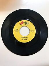 GARAGE ROCK 45 RPM RECORD- THE MOVERS - 123 RECORDS 1700