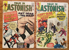 Lot of 2 Tales to Astonish Marvel Silver Age comics #'s 47 & 50 from 1963 AntMan