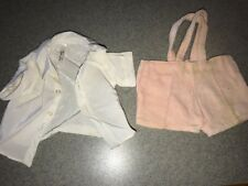 Terri - Jerri Lee Doll Clothing Velvetier Suspender Shorts and Shirt Tagged